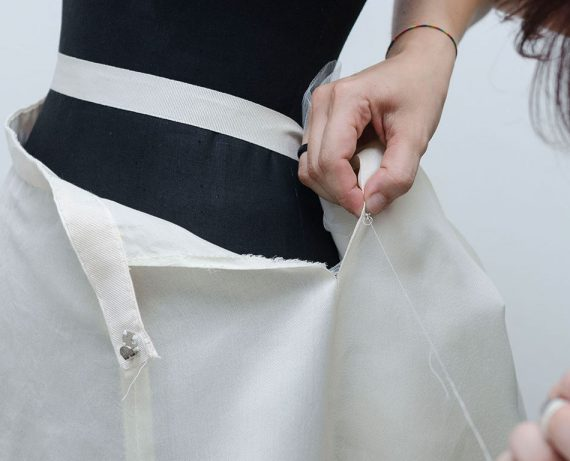 Modellista moda abbigliamento sartoria